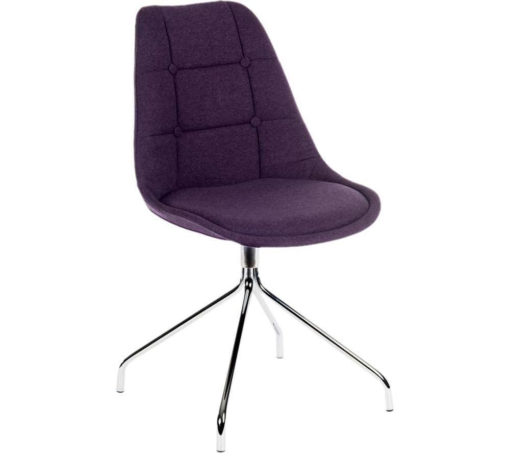 Image of Breakout Fabric Chair - Plum, Plum
