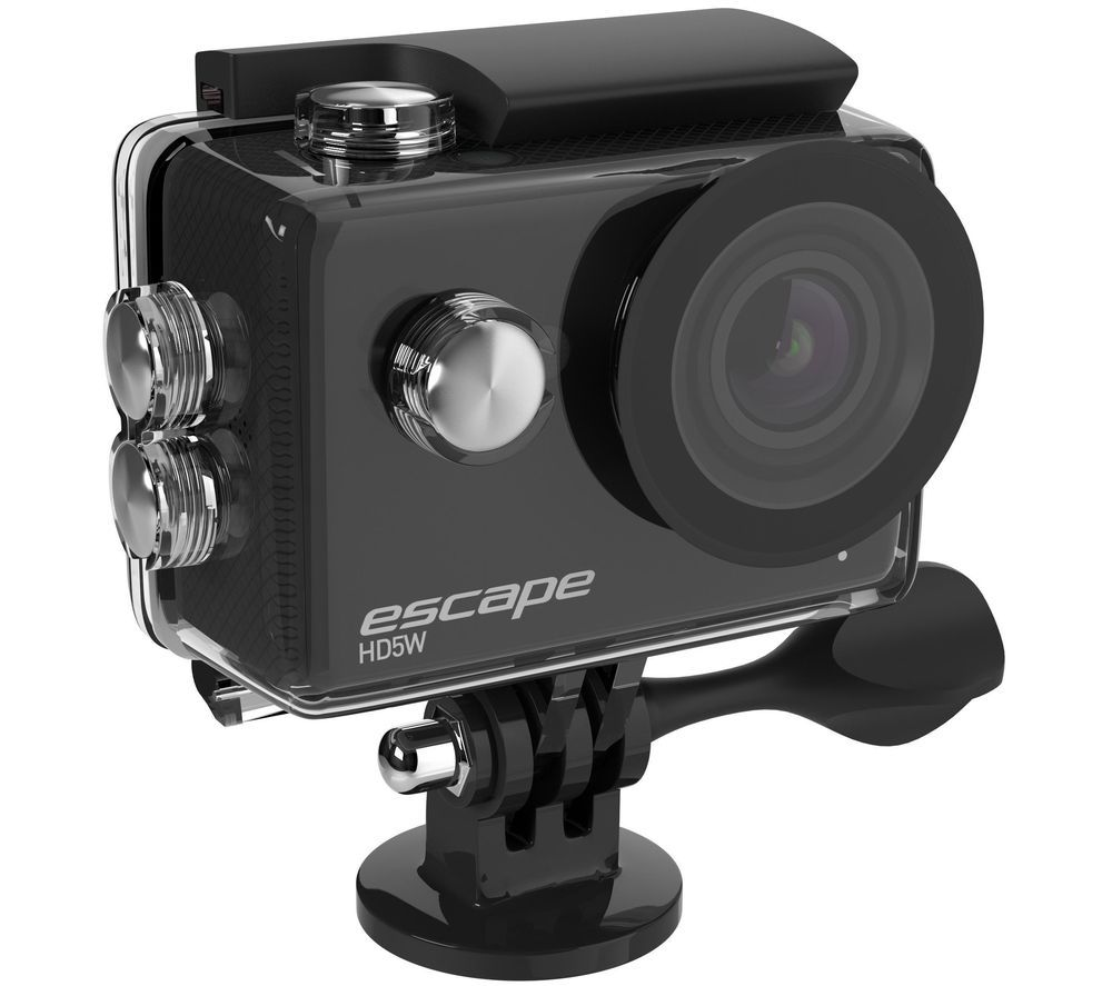 Image of KITVISION Escape Full HD Action Camera - Black, Black