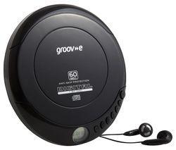 Retro GV-PS110-BK Personal CD Player - Black