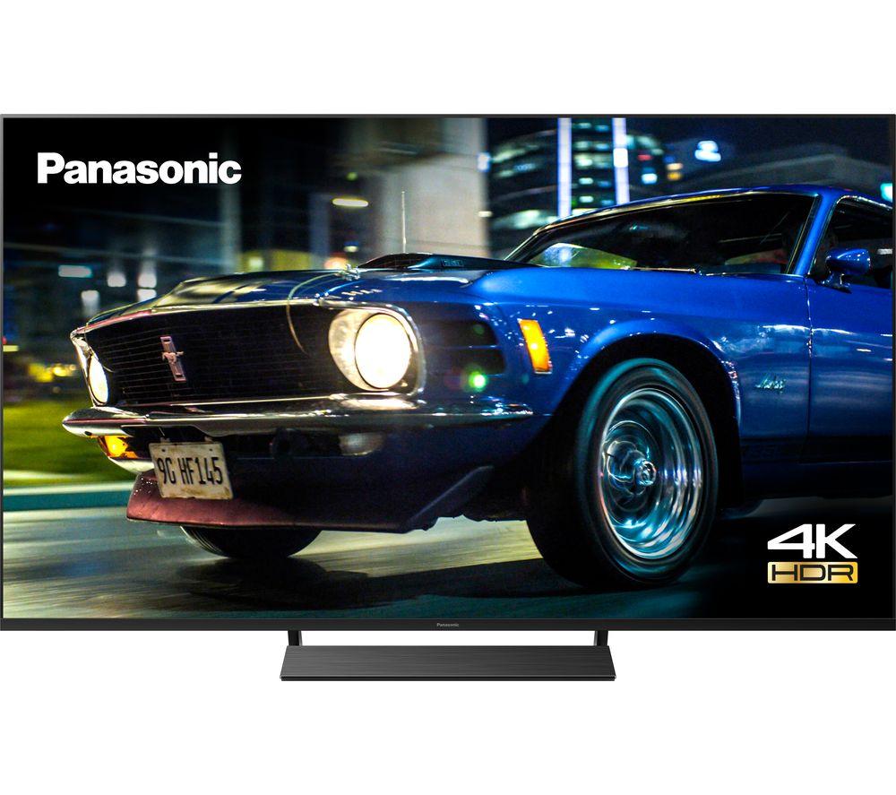 """65"""" PANASONIC TX-65HX800B Smart 4K Ultra HD HDR LED TV - Black, Black"""