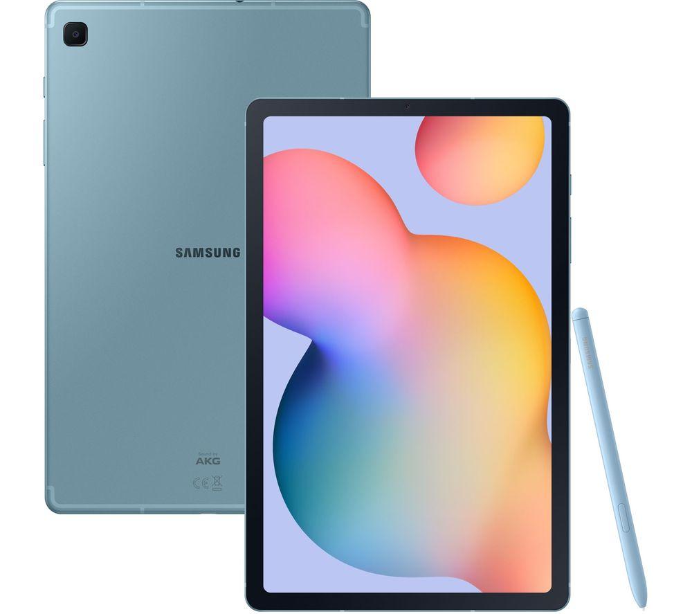"""SAMSUNG Galaxy Tab S6 Lite 10.4"""" 4G Tablet - 64 GB, Angora Blue"""