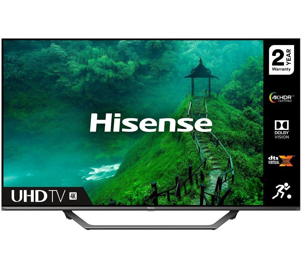 65 HISENSE 65AE7400FTUK  Smart 4K Ultra HD HDR LED TV with Amazon Alexa