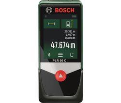 PLR 50 C Digital Laser Measure - Green & Black