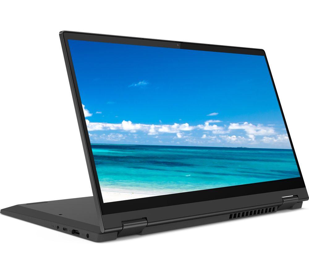 "Image of LENOVO IdeaPad Flex 5 14"" 2 in 1 Laptop - AMD Ryzen 5, 256 GB SSD, Grey, Grey"