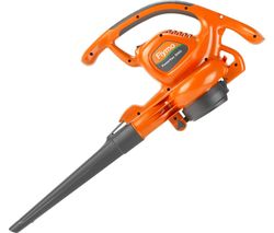 PowerVac 3000 Garden Vacuum and Leaf Blower - Orange & Grey