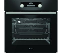 BSA5221ABUK Electric Oven with Even Bake & Steam Add - Black