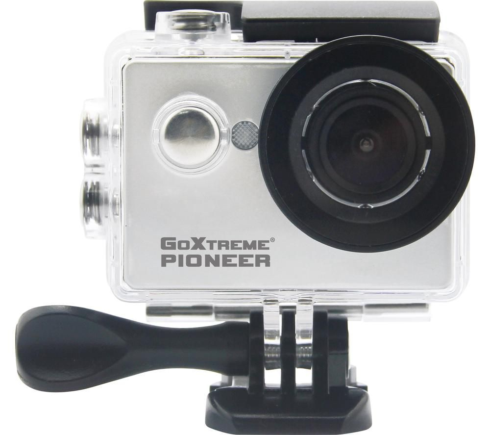 GOXTREME Pioneer 4K Ultra HD Action Camera - Silver