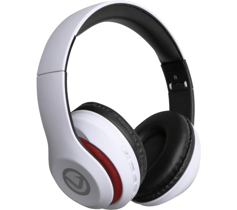 VOLKANO Impulse Series VB-VH102-WT Wireless Bluetooth Headphones - White