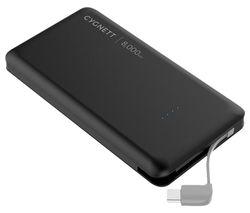 ChargeUp Pocket USB-C Portable Power Bank - Black