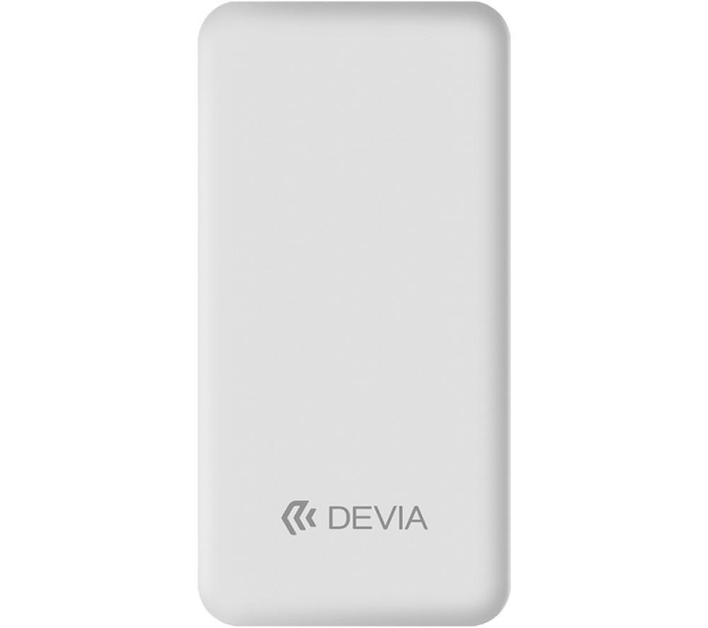 DEVIA DEV-SMARTV3-POW10-WHT Portable Power Bank - White