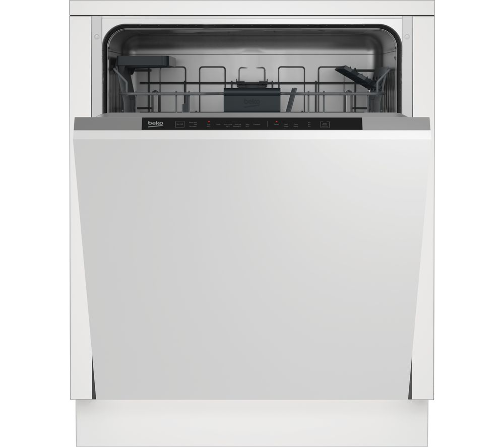 Image of BEKO DIN16X20 Full-size Fully Integrated Dishwasher