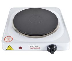 E4102WH Single Electric Hot Plate - White
