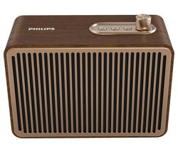 TAVS500/00 Portable Bluetooth Speaker - Gold & Brown