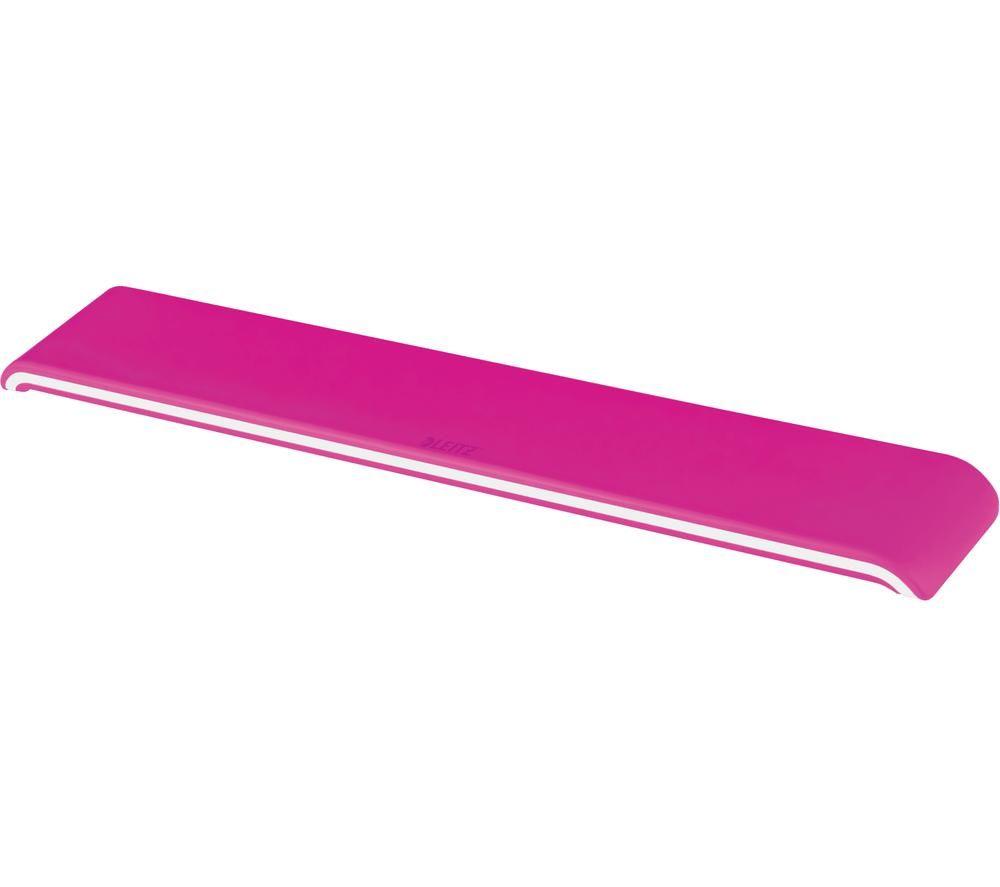 Image of LEITZ Ergo WOW Keyboard Wrist Rest - Pink, Pink