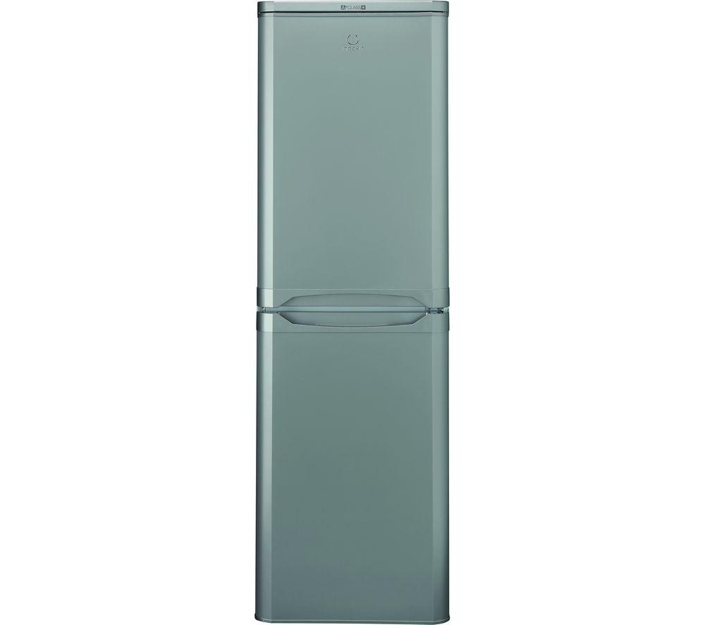 INDESIT IBD 5517 S UK 1 50/50 Fridge Freezer - Silver, Silver