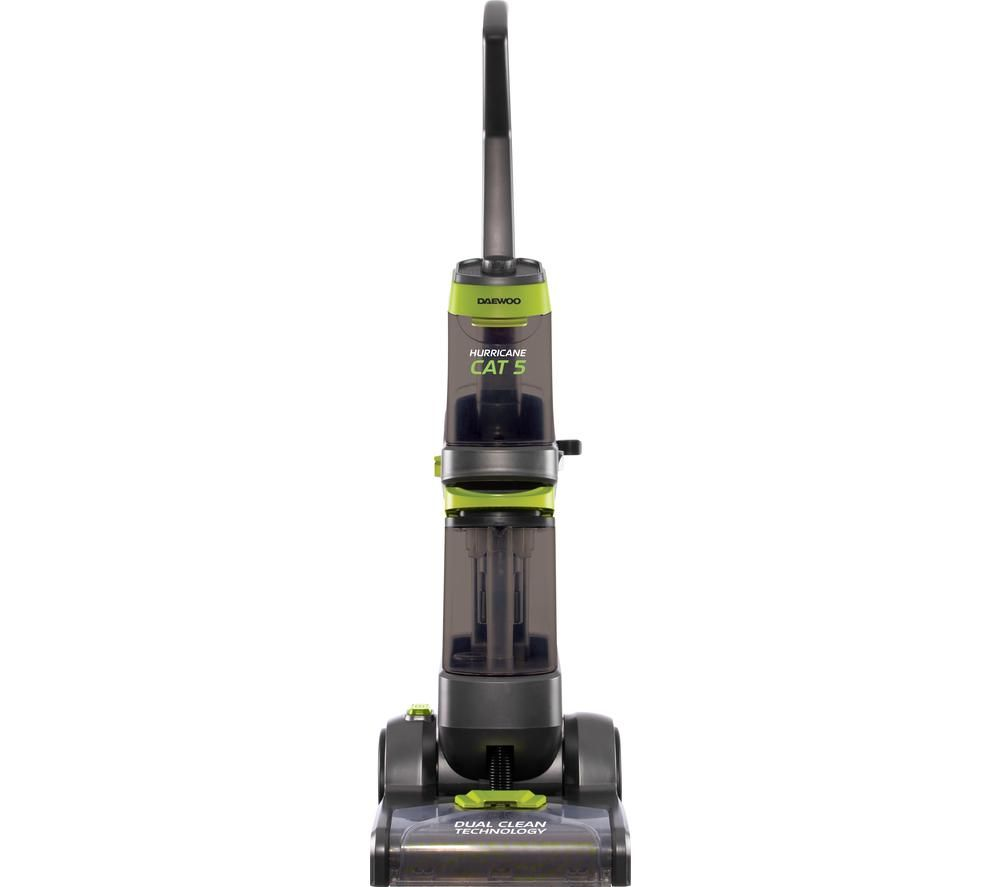 DAEWOO Hurricane Cat 5 Deluxe Pro Upright Carpet Cleaner - Grey & Green