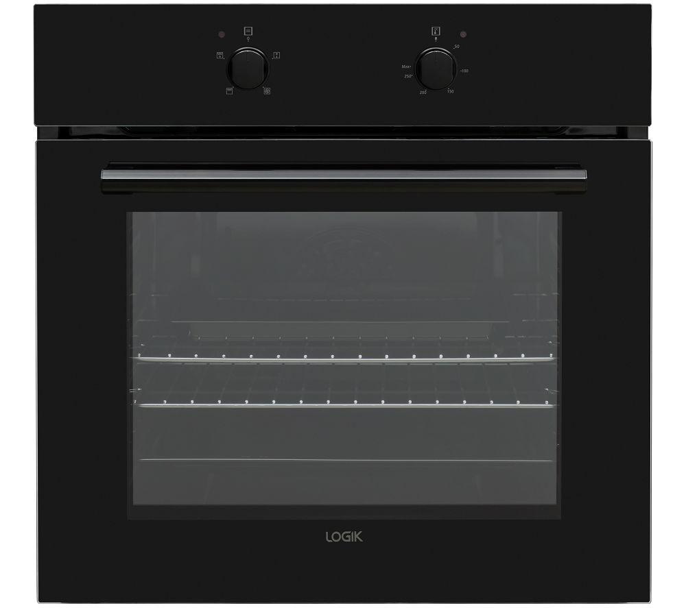 LOGIK LBFANB20 Electric Oven - Black