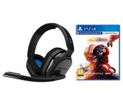 A10 Gaming Headset & Star Wars: Squadrons Bundle - Blue