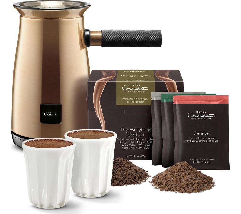 HOTEL CHOCOLAT HC01 Velvetiser Hot Chocolate Machine - Copper