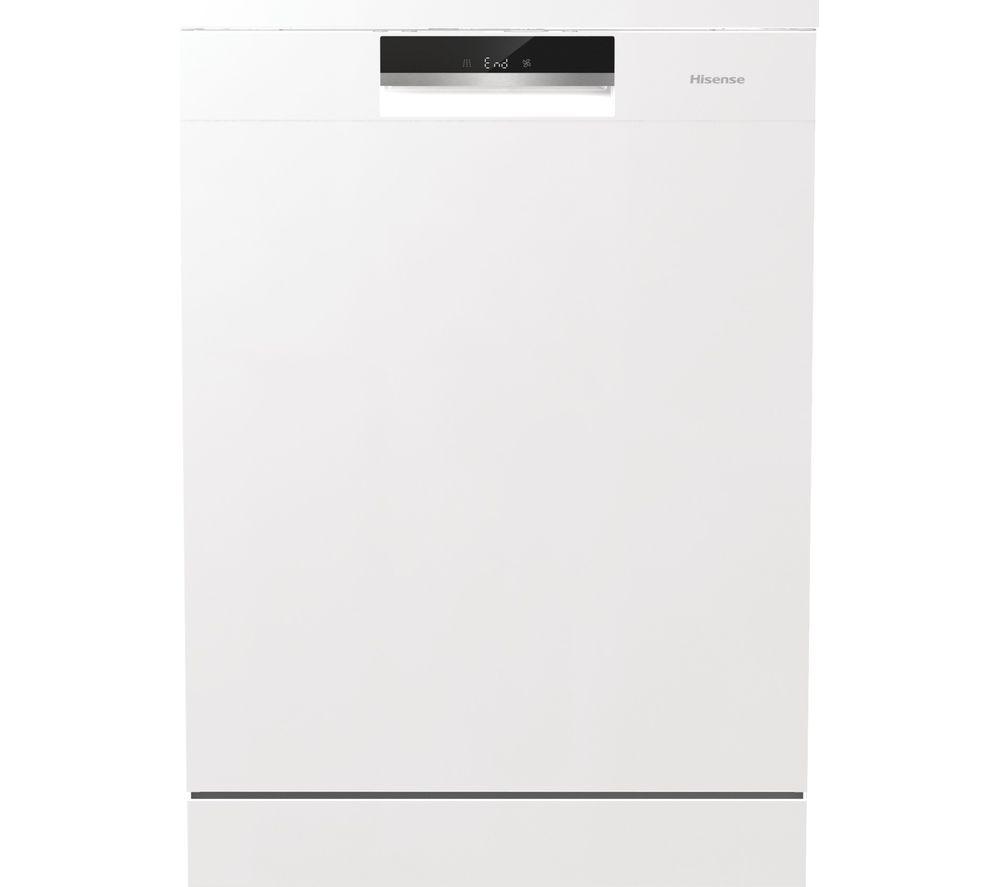 HISENSE HS661C60WUK Full Size Dishwasher - White, White