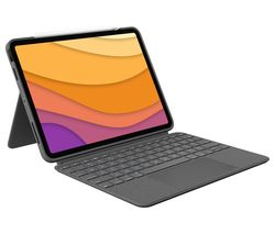 "Combo Touch iPad Air 10.9"" Keyboard Folio Case - Grey"