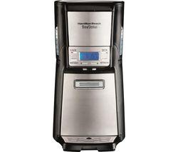 BrewStation 48465-SAU Filter Coffee Machine - Black & Silver