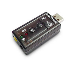 USB-SOUND7 7.1 Channel USB Sound Card