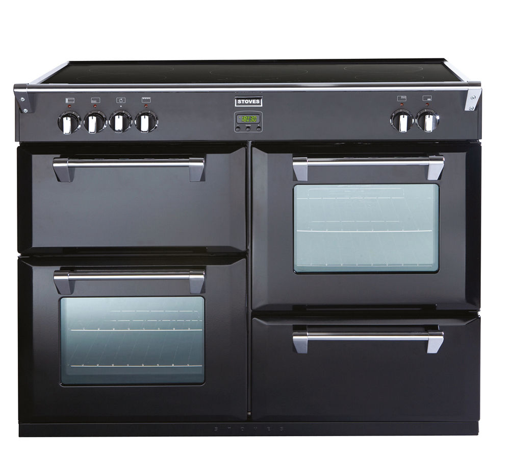 STOVES Richmond 1000Ei Electric Induction Range Cooker - Black