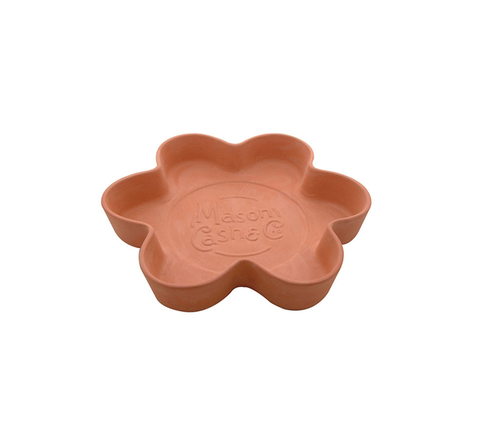 MASON CASH 30 cm Tear & Share Flower Bread Form - Terracotta