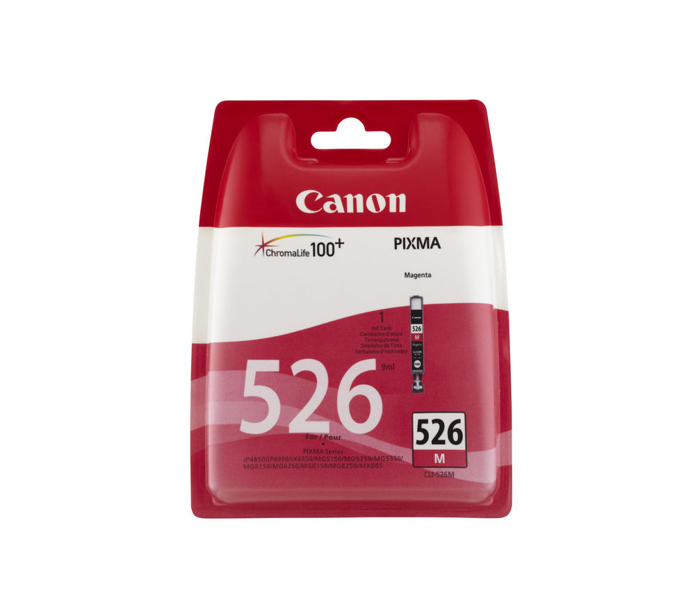 Compare retail prices of Canon CLI-526M Magenta Ink Cartridge to get the best deal online