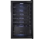 LOGIK LWC34B15 Wine Cooler - Black
