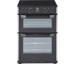 BELLING CFE60DOP 60 cm Electric Cooker - Black & Stainless Steel