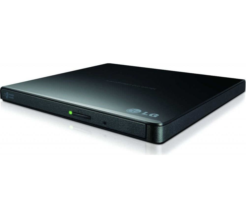 LG GP57EB40 External Ultraslim DVD Writer - Black