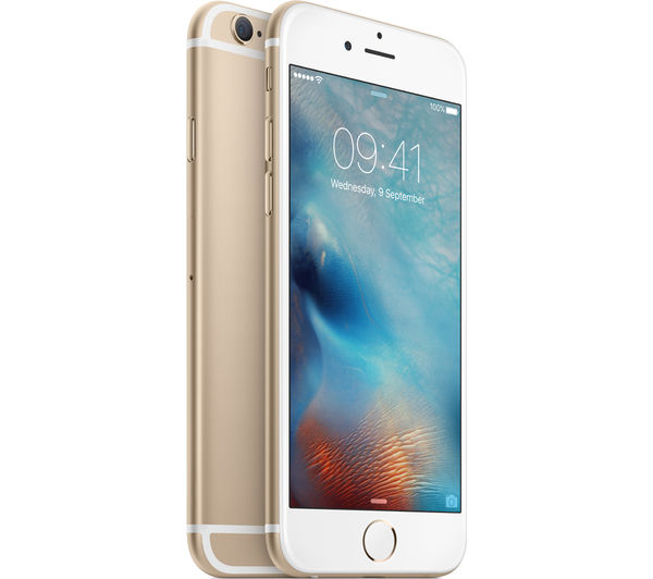 Mkql2b A Apple Iphone 6s 16 Gb Gold Currys Pc World