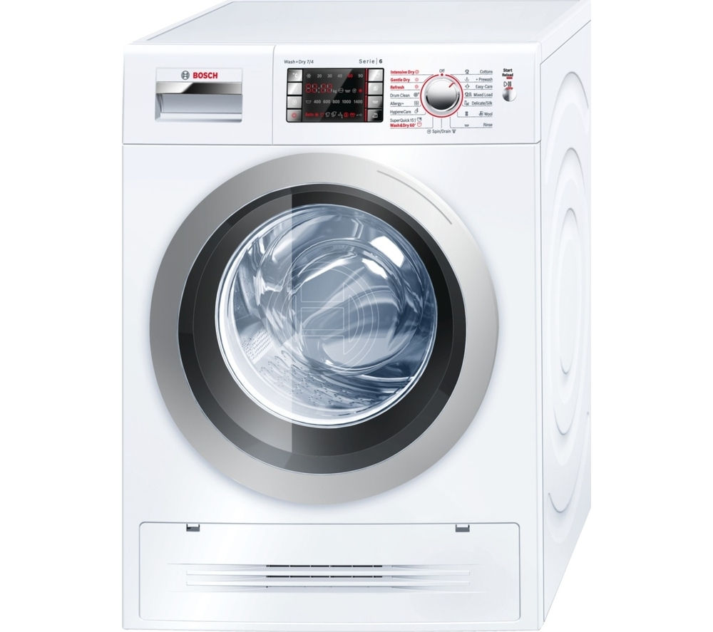 Compare retail prices of Bosch WVH28422GB Washer Dryer to get the best deal online