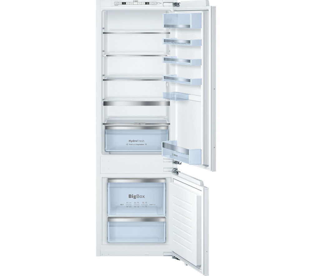 BOSCH Serie 6 KIS87AF30G Integrated 70/30 Fridge Freezer
