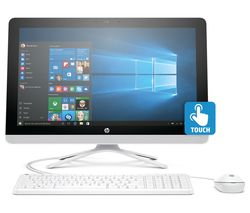 "HP 22-b065na 21.5"" Touchscreen All-in-One PC - White"