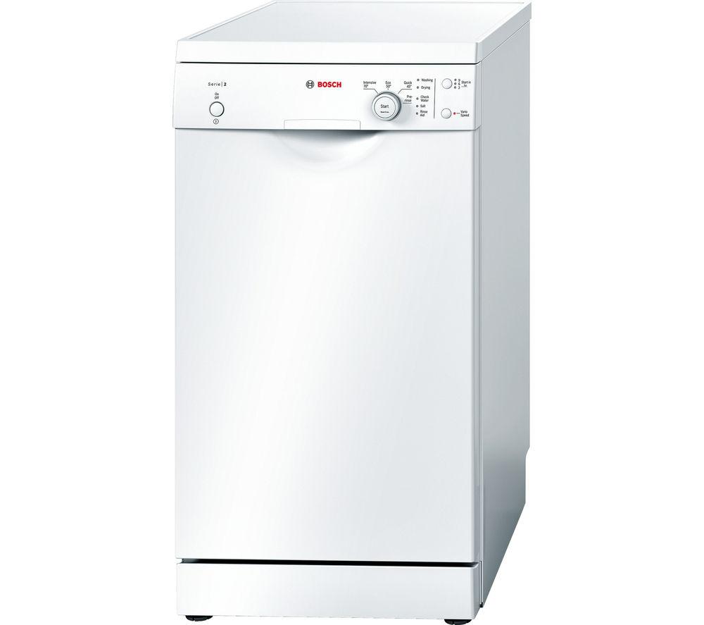 BOSCH SPS40E32GB Slimline Dishwasher - White