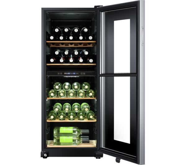 buy haier ws46gdbe wine cooler black free delivery. Black Bedroom Furniture Sets. Home Design Ideas