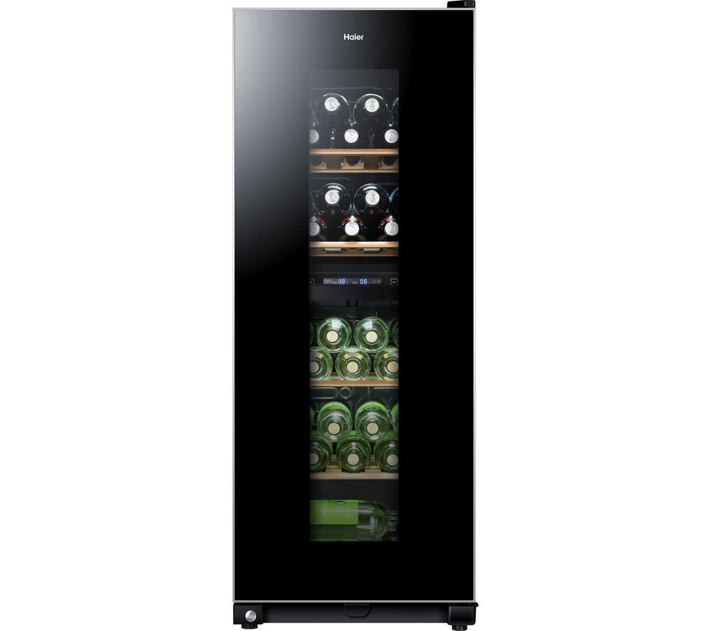 HAIER WS46GDBE Wine Cooler - Black