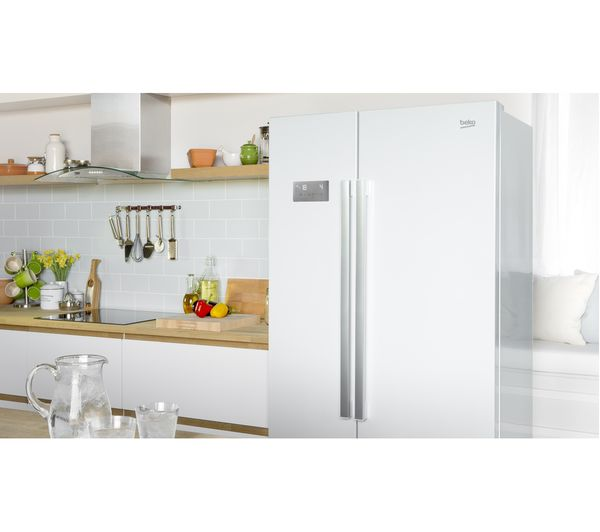 buy beko asl141w american style fridge freezer white. Black Bedroom Furniture Sets. Home Design Ideas