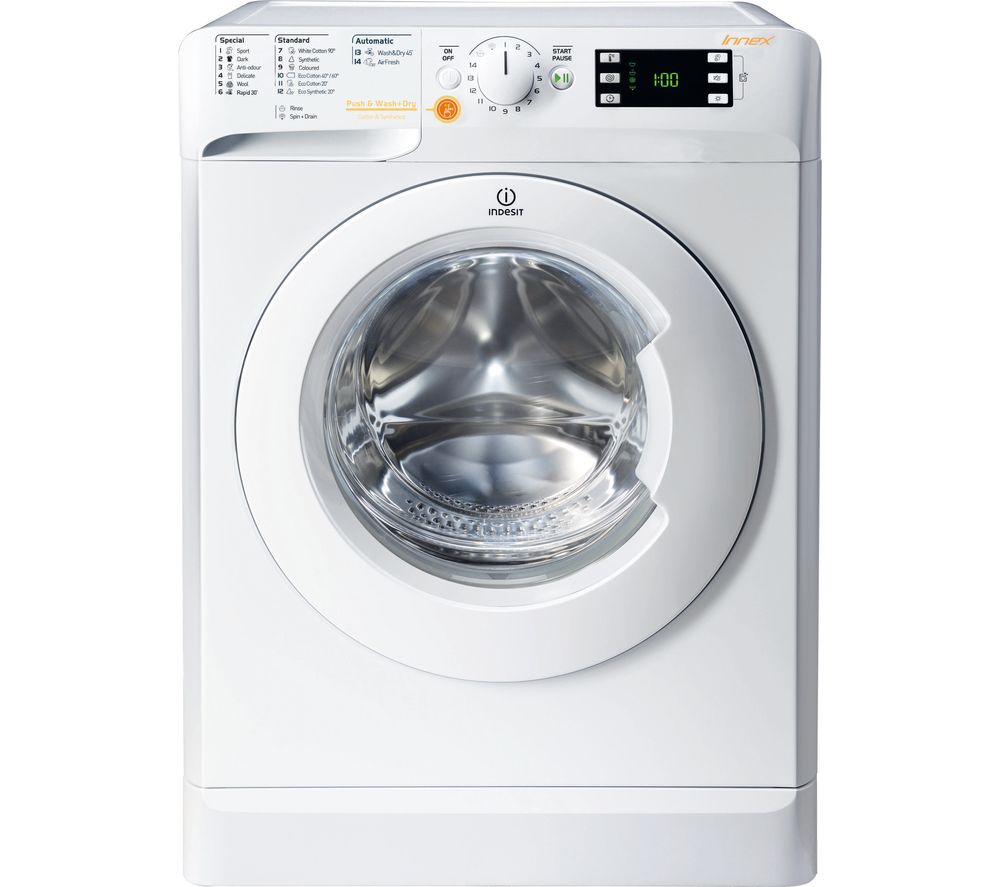 INDESIT XWDE 861480X W 8 kg Washer Dryer - White