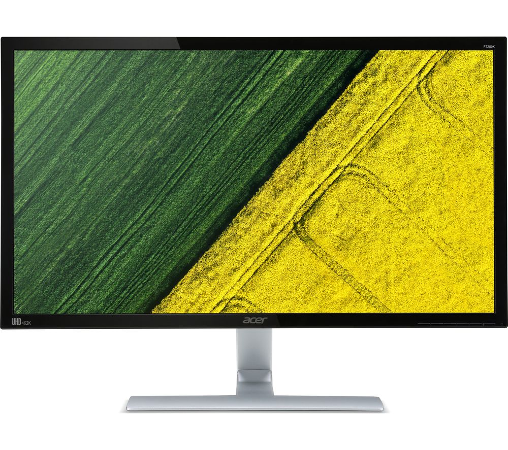 Compare cheap offers & prices of Acer RT280Kbmjd 4K Ultra HD 28 Inch LED Monitor manufactured by Acer