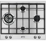 SMEG P361XGH Gas Hob - Stainless Steel