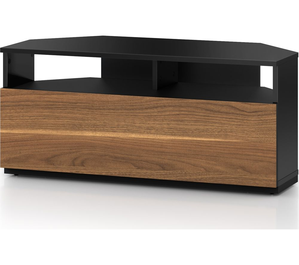 SONOROUS Troy TRD100 1000 mm CRN TV Stand - Black & Walnut
