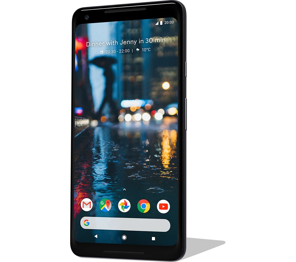 GOOGLE Pixel 2 XL - 64 GB, Just Black