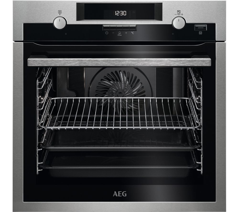 AEG BPS551020M Electric Oven - Stainless Steel, Stainless Steel