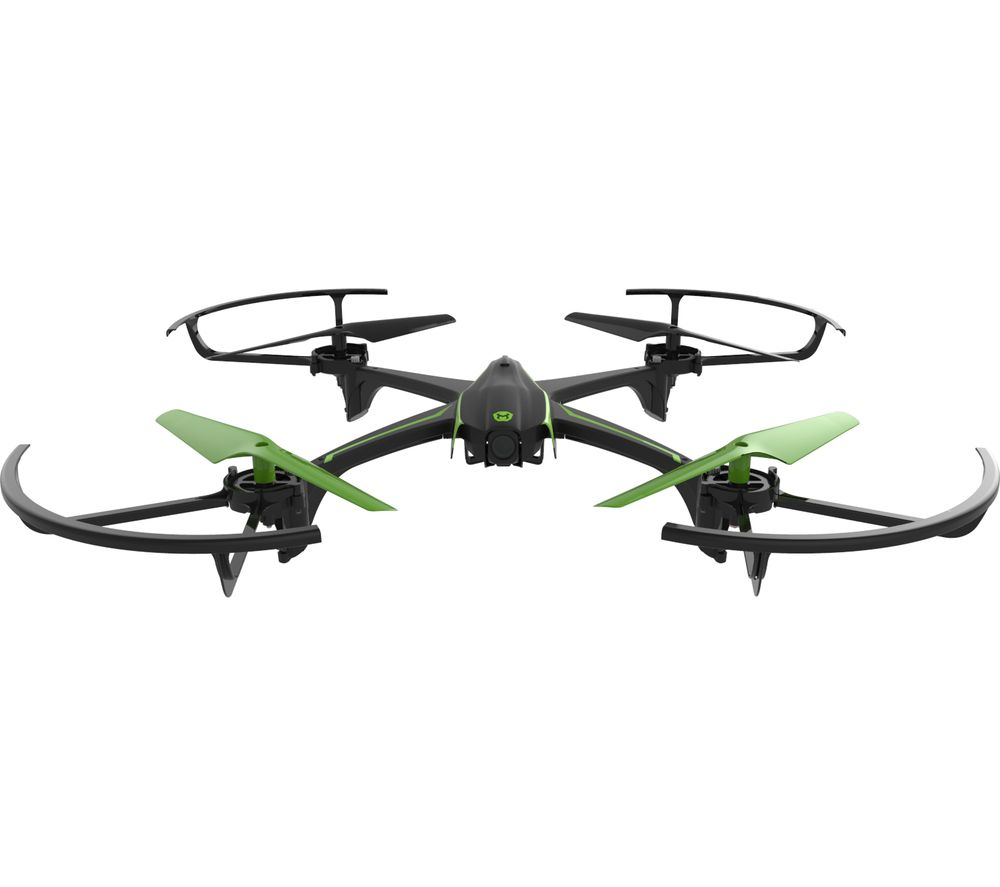 VIVID 01734 Sky Viper Streaming Drone with FPV & Controller - Black & Green