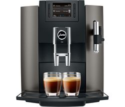 JURA E8 Bean to Cup Coffee Machine - Dark Inox