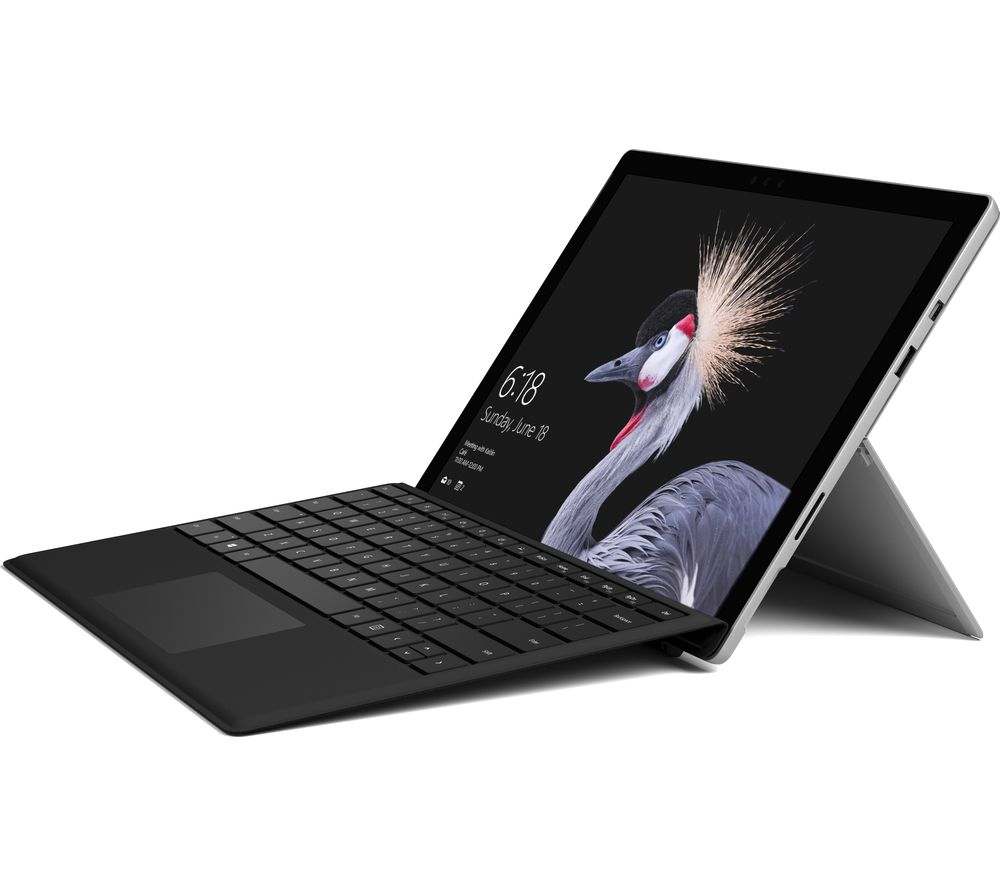 MICROSOFT Surface Pro 128 GB & Typecover - Black